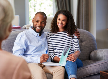 couple attending their counselling