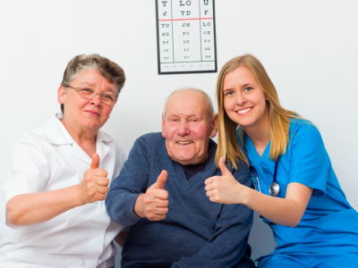 humbs Up For Elderly Homecare